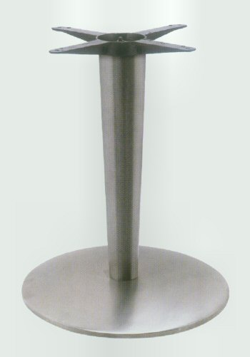 Tapered Column Cast Iron Table Base