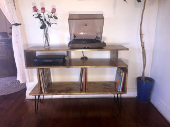 Tv Record Stand